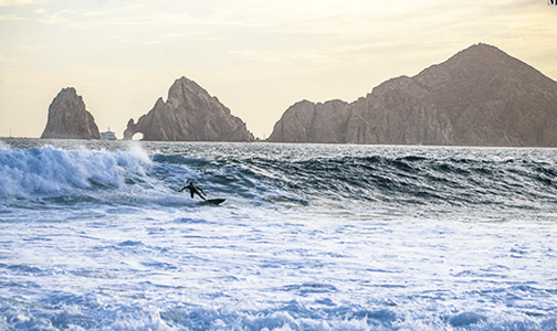 Surfing Monuments Surfing Spot Cabo