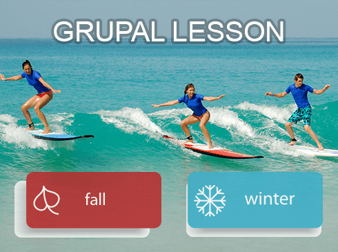 Fall and Winter Surf Lessons in Cerritos Baja California Surf