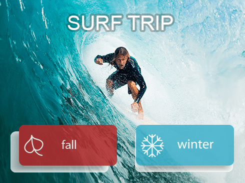 Fall Winter Surf Trip in Cabo