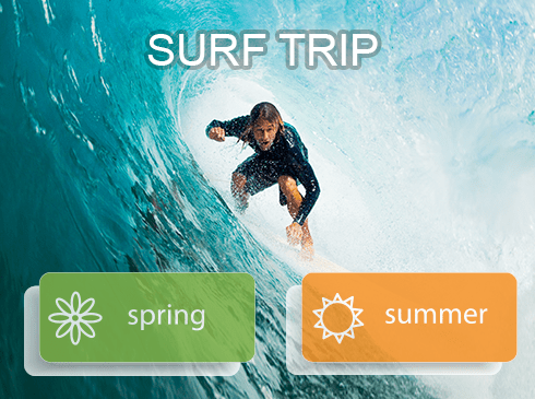 Spring Summer Surf Trip in Cabo